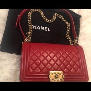 CHANEL Bags - Chanel - Old Boy Medium, EUC